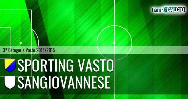 Sporting Vasto - Sangiovannese