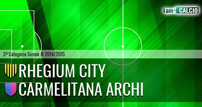 Rhegium City - Carmelitana Archi