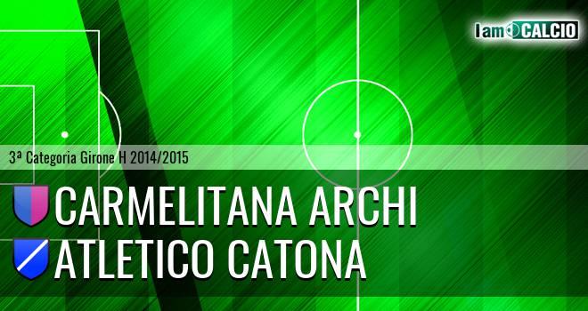 Carmelitana Archi - Catona Calcio
