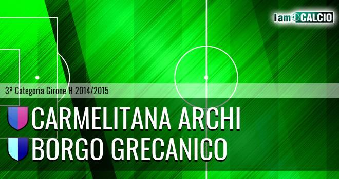 Carmelitana Archi - Borgo Grecanico