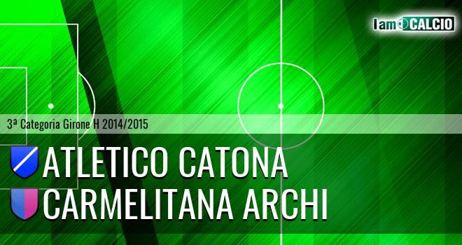 Catona Calcio - Carmelitana Archi