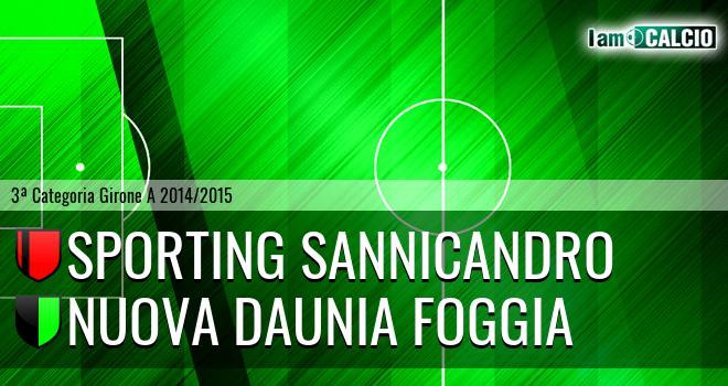 Sporting Sannicandro - Nuova Daunia Foggia