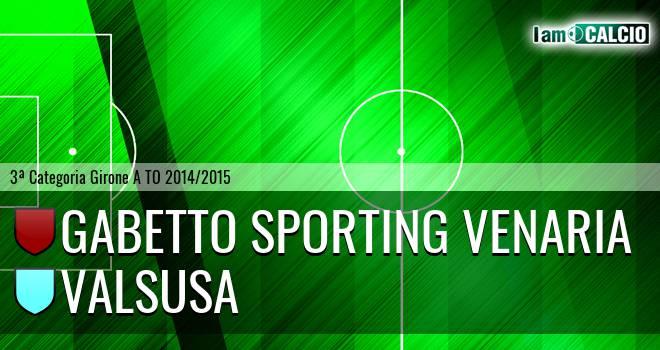 Gabetto Sporting Venaria - Valsusa