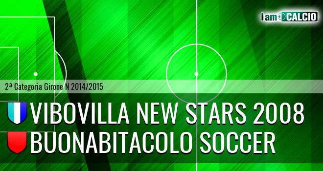 Vibovilla New Stars 2008 - Buonabitacolo Soccer
