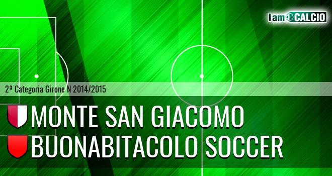 Monte San Giacomo - Buonabitacolo Soccer