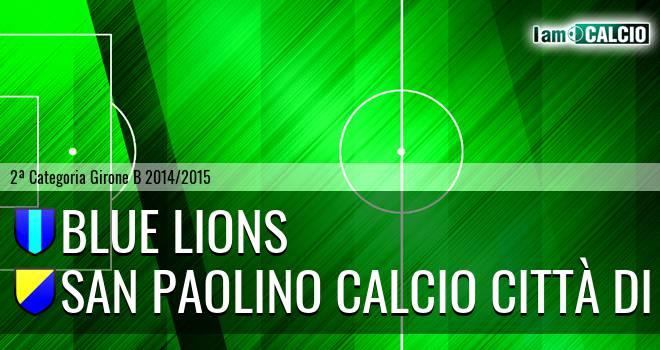 Blue Lions - San Paolino Calcio Città di Nola