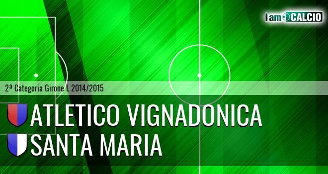 Atletico Vignadonica - Santa Maria
