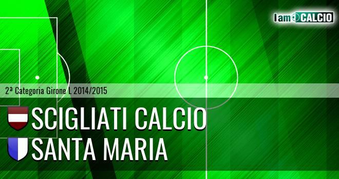Scigliati Calcio - Santa Maria