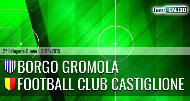 Borgo Gromola - Football Club Castiglione