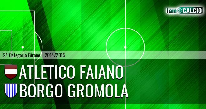 Atletico Faiano - Borgo Gromola