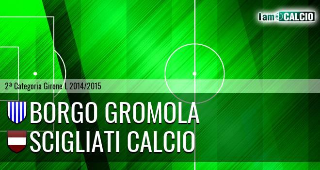 Borgo Gromola - Scigliati Calcio