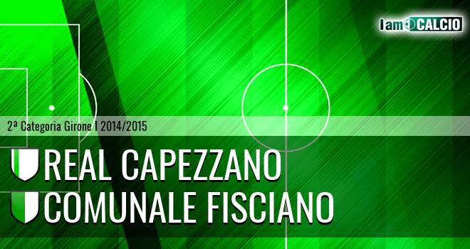 Real Capezzano - Comunale Fisciano