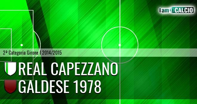 Real Capezzano - Galdese 1978