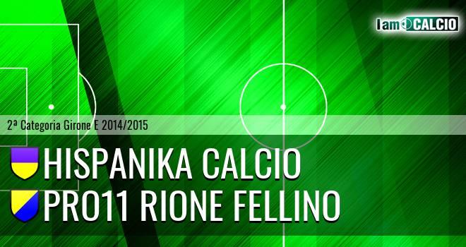 Hispanika Calcio - Pro11 Rione Fellino