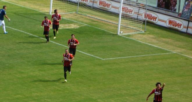 Ischia-Foggia 1-3, rossoneri belli e corsari