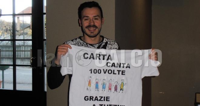 Roberto Carta trascina il Carpignano