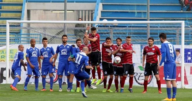 Il Manfredonia crolla sotto i colpi di Moscelli: ad Andria è 2-0