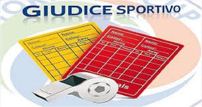 Prima Categoria: Il Giudice Sportivo decide che