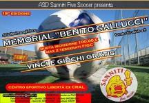 """Aperte le iscrizioni per il 18° """"Memorial Benito Gallucci"""""""
