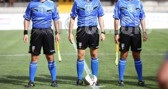 Serie D - Girone F, 32a giornata: le designazioni arbitrali