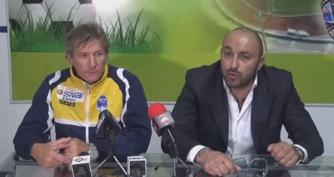 """Ebolitana, Nastri: """"Peserà l'assenza di Liccardi ma resto fiducioso"""""""