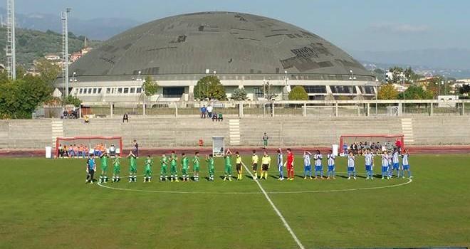 Due gol di Saani fanno volare l'Ebolitana: battuto di misura il Faiano
