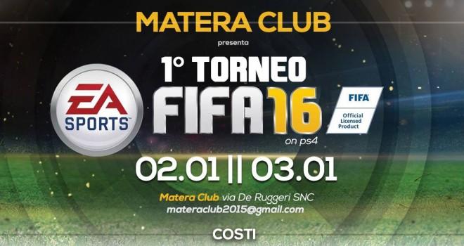 Ecco il regolamento del Torneo di FIFA16 per Ps4 del Matera Club!