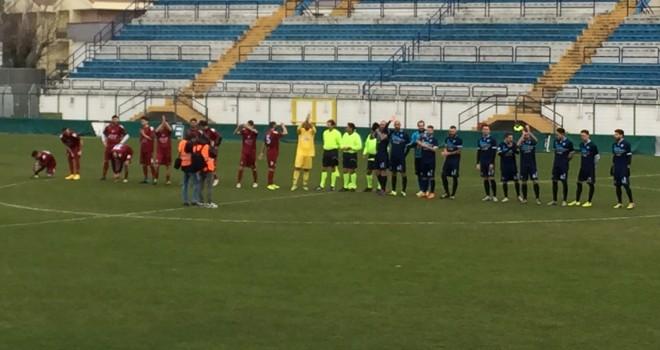 Matera-Trani finisce 1-0, decide Albadoro su calcio di rigore