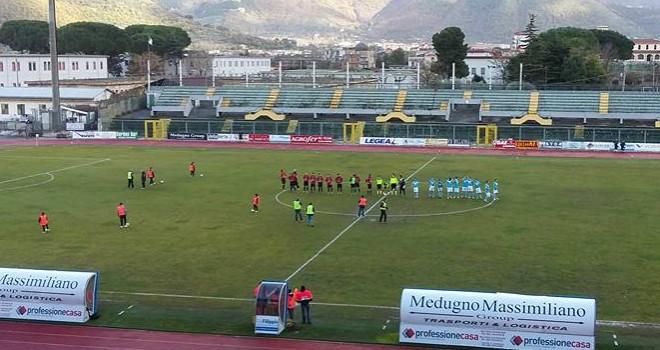 Il Città di Nocera supera l'Us Scafatese nell'andata di Coppa Italia