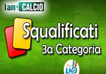 3a cat. Maglie, giud. sportivo: 8 calciatori squalificati