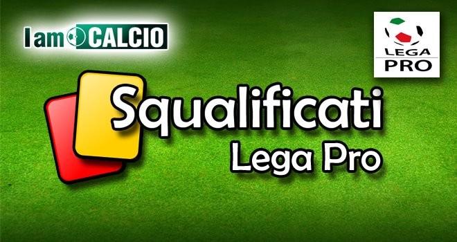 Lega Pro, gir.C: le squalifiche del 21° turno. Multate quattro società