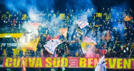 Spal-Benevento: raddoppiano in 24 ore i tifosi giallorossi a Ferrara