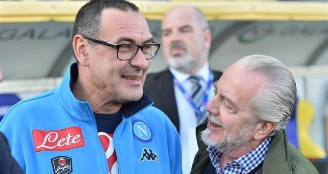 """Il Napoli saluta Sarri: """"Mai negati calore e stima. Gli auguriamo..."""""""