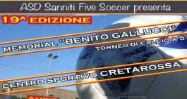 """La XIX edizione del Memorial """"Benito Gallucci"""" parte il 6 giugno"""