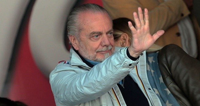 Aurelio De Laurentiis, Presidente Napoli