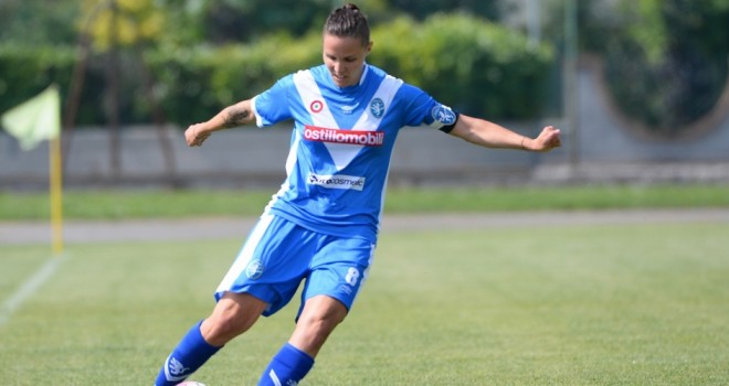 Mozzanica-Brescia 1-1: Alborghetti risponde a Girelli