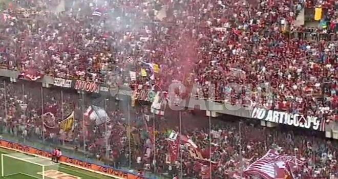 Palermo-Salernitana, pioggia di DASPO per i tifosi granata