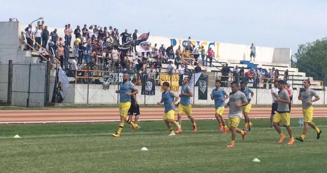 Impresa Sicula Leonzio, 2-0 al Metapontino e Serie D conquistata