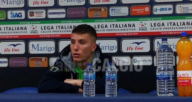 Francesco Lisi, esterno Juve Stabia