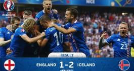 Islanda da non crederci. 2-1 all'Inghilterra, sarà Francia ai quarti