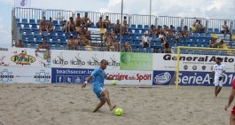 Napoli Beach Soccer, 2° ko di fila: De Lorenzo trascina il Barletta