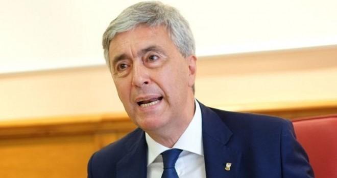 Il presidente della Lnd Cosimo Sibilia