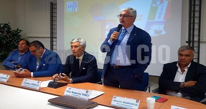 Vito Tisci, FIGC