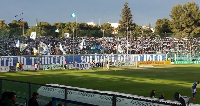 F.Andria - Bari stasera alle 20.30 in diretta tv