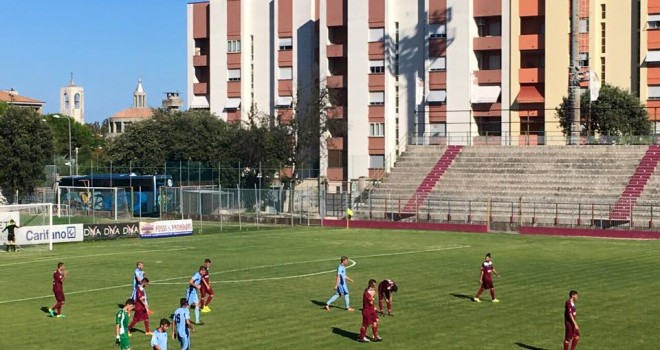 Fano-Albinoleffe 1-1 : Celeste eliminata in Coppa