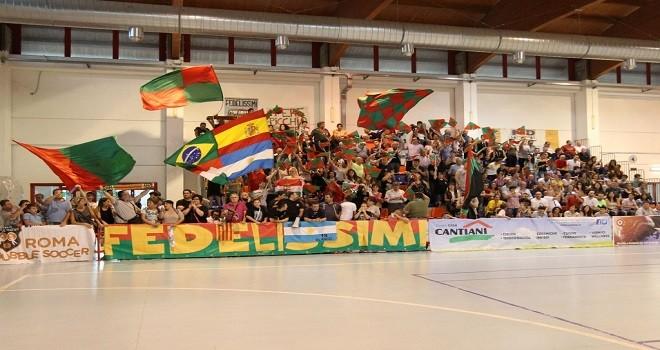 Tifosi Futsal al palazzetto