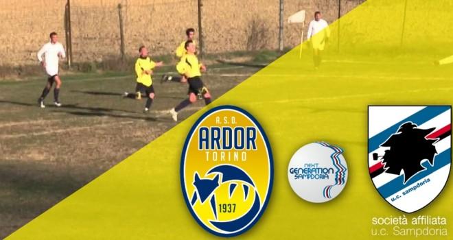 Ardor Torino, ufficiale l'affiliazione con la Sampdoria