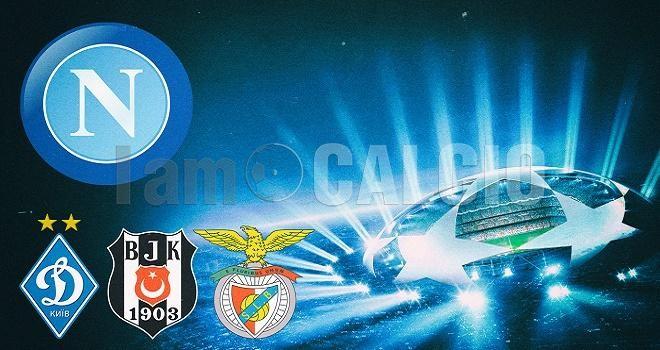Napoli, girone di Champions League fortunato per gli azzurri