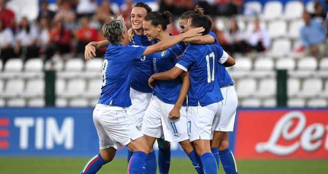 3-1 alla Repubblica Ceca, l'Italia femminile vola all'Europeo