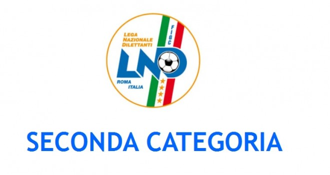 I nuovi gironi di Seconda Categoria